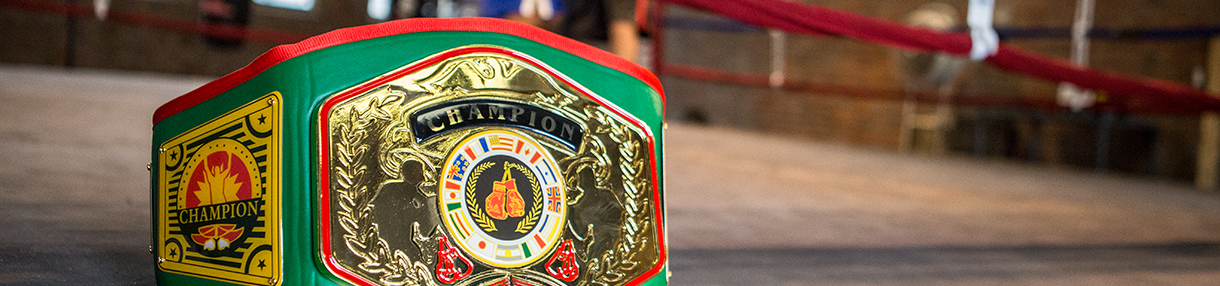 Championship Belts & Custom Awards