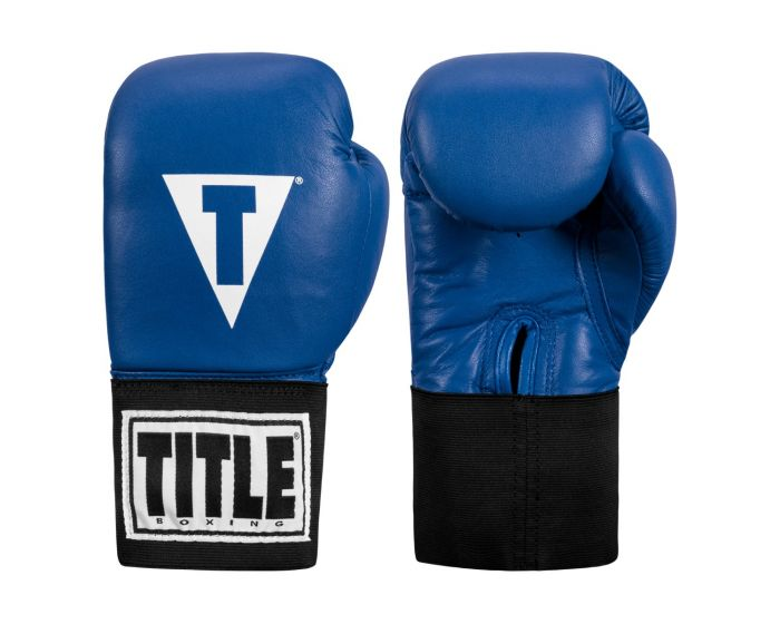TITLE USA Boxing Competition Gloves - Elastic