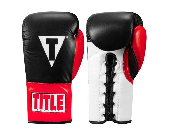 TITLE Classic Pro Fight Gloves
