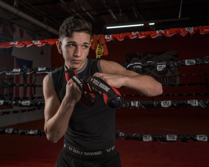 TITLE Boxing Heavy-Hitters Hand Weights