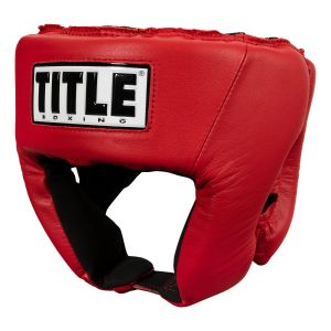 TITLE USA Boxing Competition Headgear - Open Face