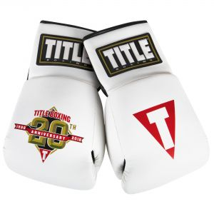 TITLE Boxing 20th Anniversary Autograph Gloves