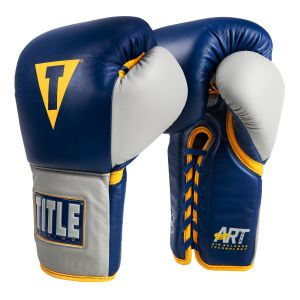 TITLE Artech Lace-Up Sparring Gloves
