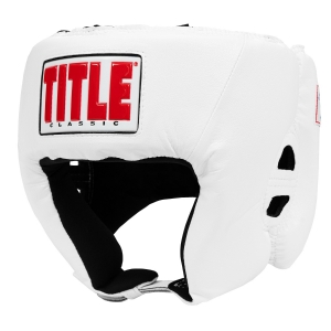TITLE Classic USA Boxing Competition Headgear – Open Face