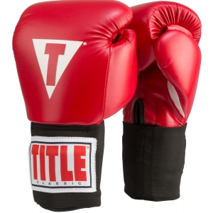 TITLE Classic USA Boxing Competition Gloves - Elastic