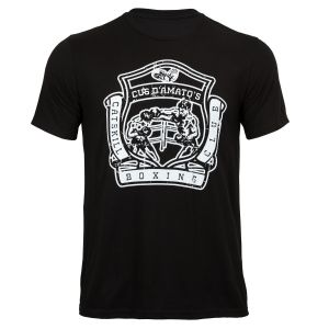 TITLE Boxing Legacy Cus D'Amato Full Crest Tee