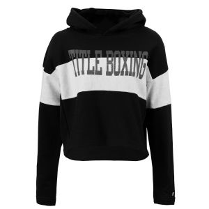 TITLE Boxing Champion Womens Reverse Weave Crop Hoodie
