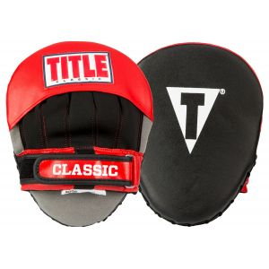TITLE Classic Pro Style Focus Mitts