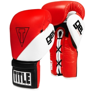 TITLE GEL E-Series Lace Training Gloves