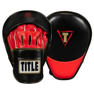 Title Boxing Ali Super Micro Punch Mitts Black