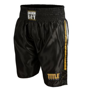 Golden Boy Boxing Trunks