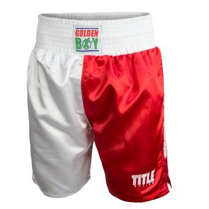 Golden Boy Pro Style Boxing Trunks - USA/Mexico