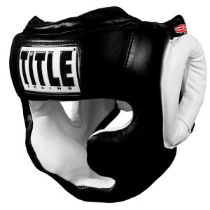 TITLE GEL World Full Face Training Headgear