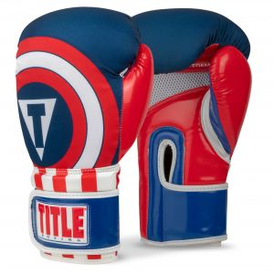 TITLE Infused Foam Commander Boxing Gloves
