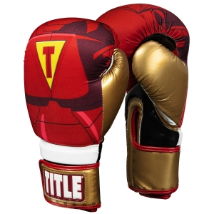 TITLE Infused Foam Invincible Boxing Gloves
