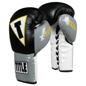 TITLE Icon I-Tech Lace Training Gloves