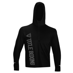TITLE Boxing Anoint Quarter Zip Hoody