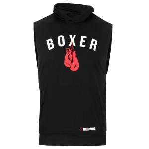 TITLE Boxing Boxer Muscle Hoody Tee