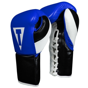 TITLE Premium Leather Pro Fight Gloves