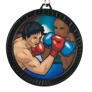 TITLE Boxing Black Max Victory Medal