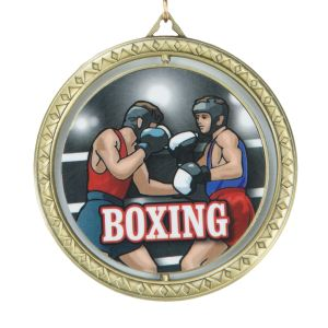 TITLE Boxing Spinning Victory Medal