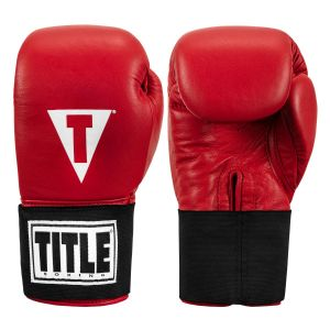 TITLE Masters USA Boxing Competition Gloves - Elastic