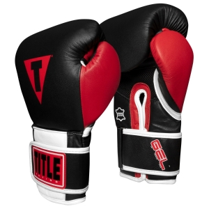 TITLE Boxing Professional Series GEL Bag Gloves