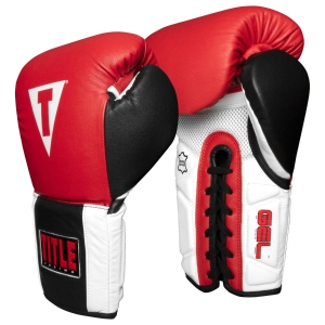 TITLE Boxing Professional Series GEL Sparring Gloves