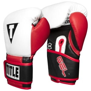 TITLE Boxing Professional Series GEL Training Gloves