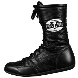 Pro Mex Professional Leather Boxing Boots