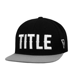 TITLE Boxing Fighting Flatbill Fitted Cap