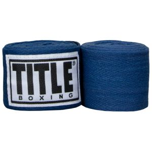 """TITLE Junior 120"""" Traditional Weave Hand Wraps"""