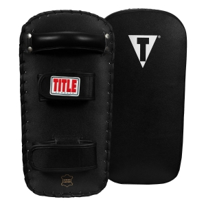 TITLE Classic Pro-Style Leather Thai Pads 2.0 - Pair