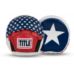 TITLE USA Leather Micro Punch Mitts