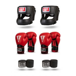 TITLE Safe-T Contact Sparring Set