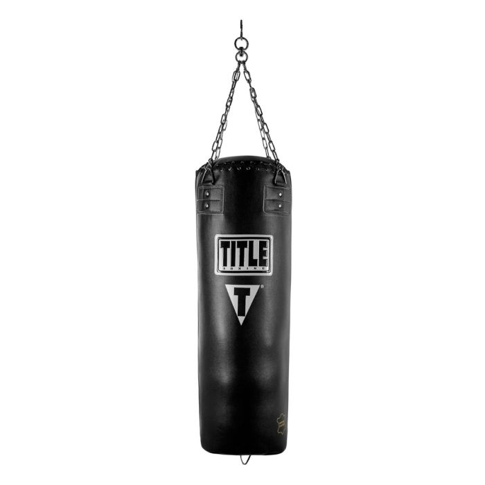 TITLE Traditional Leather Heavy Bag (Unfilled)