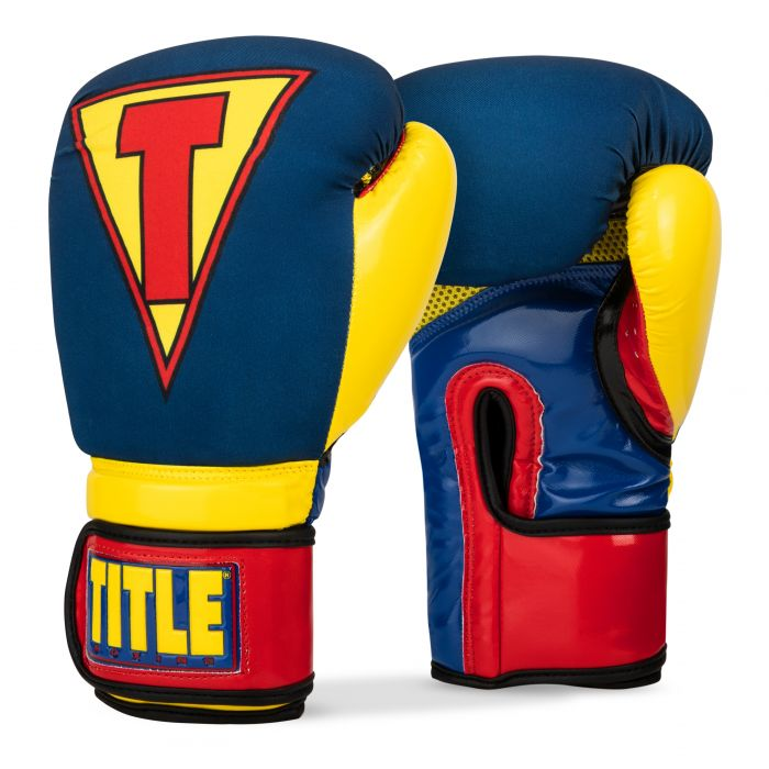 Title Boxing Infused Foam Training Boxing Gloves Crusader