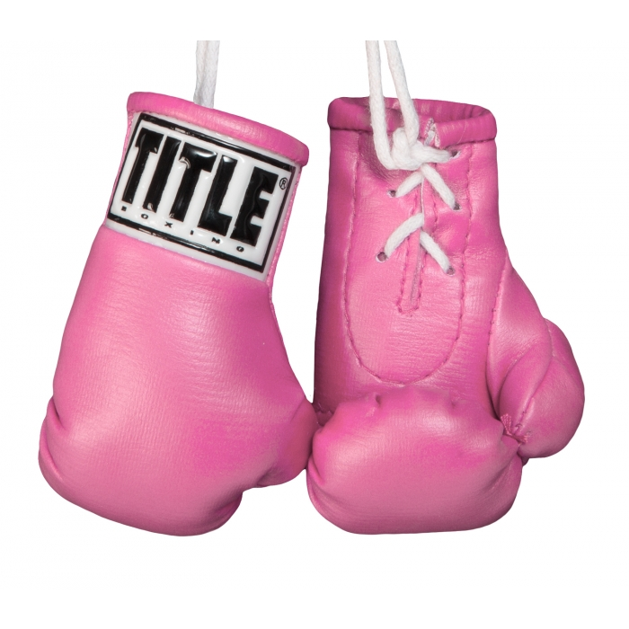 "TITLE 3.5"" MINI BOXING GLOVES"