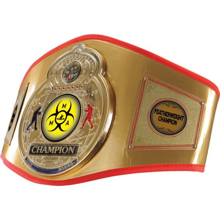 TITLE MMA Gold Flash TITLE Belt Examples