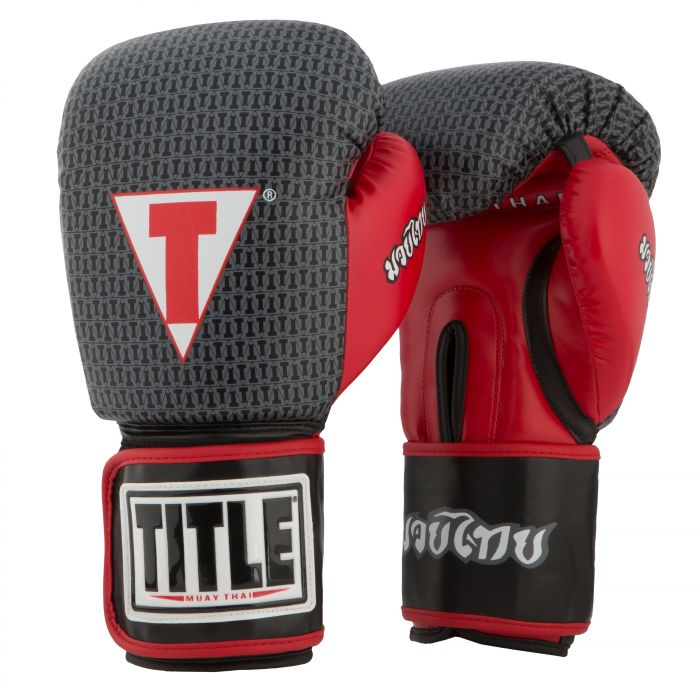 TITLE Muay Thai Training Gloves | TITLE Boxing Gear