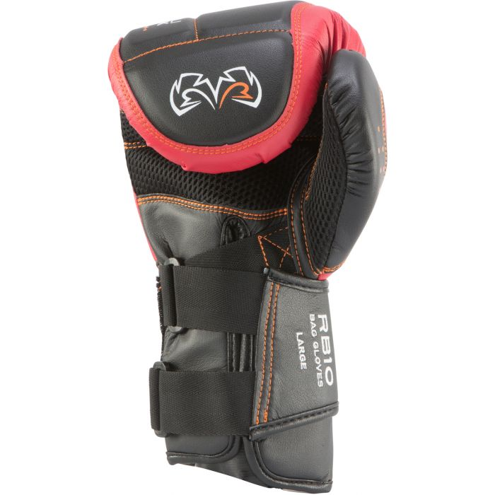 Black//Gray Rival Boxing d3o Intelli-Shock Bag Gloves
