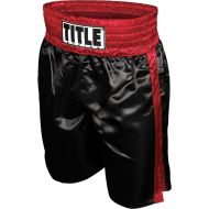 TITLE Professional Satin Boxing Trunks