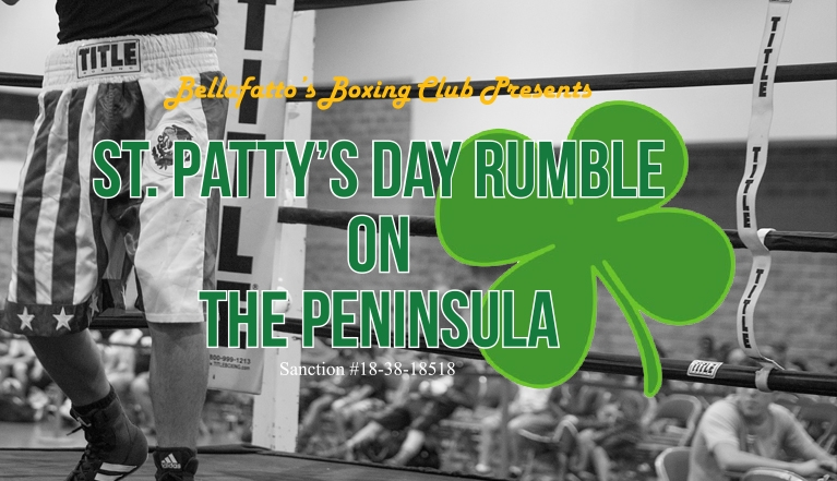 ST. PATTY'S DAY RUMBLE ON THE PENINSULA
