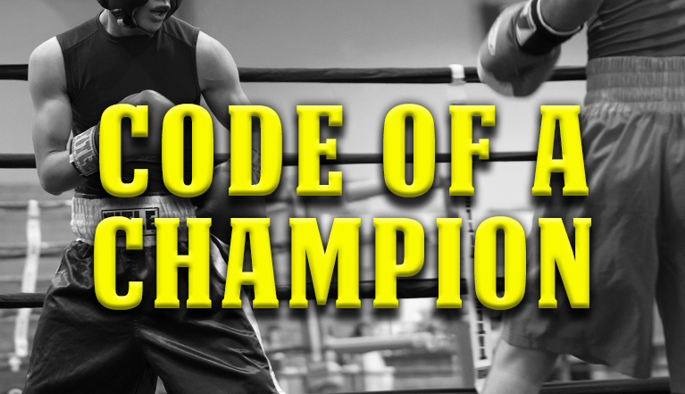 CODE OF A CHAMPION